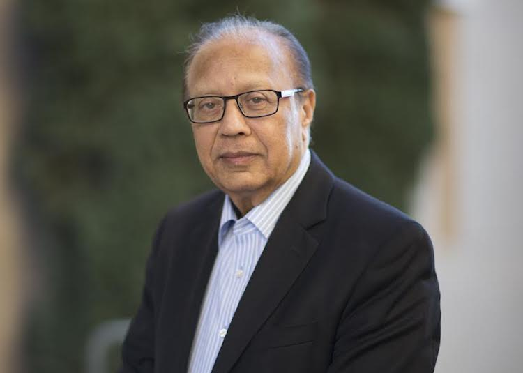 Photo: Ambassador Anwarul K. Chowdhury, former Under-Secretary-General and High Representative of the United Nations. Credit: Mitsu (Eric) Kimura, SUA Archivist.