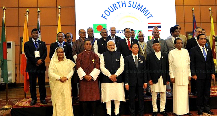 Photo: The Fourth BIMSTEC Summit was held in Kathmandu, Nepal on 30-31 August 2018. Credit: BIMSTEC.