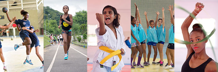Photos: Women in sport. Credit: UN Women/Erick Dau