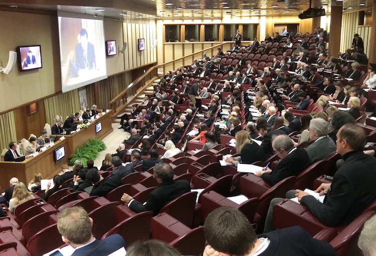 Photo: The Vatican Conference in session. Credit: Katsuhiro Asagiri | IDN-INPS.