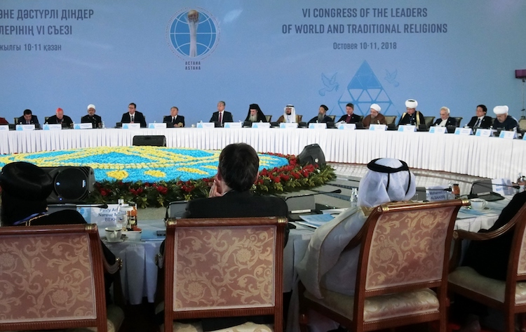 World Religious Leaders' Astana Congress Pledges 'Unity in Diversity'