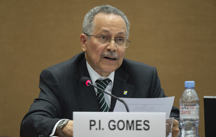 Photo: ACP Secretary-General Dr Patrick I. Gomes at the first-ever United Nations Trade Forum, organized by UNCTAD in Geneva, Switzerland, from 9 to 13 September 2019. Credit: Timothy Sullivan (UNCTAD)