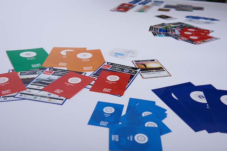 Image: 2030 SDGs Game. Credit: Imacocollabo